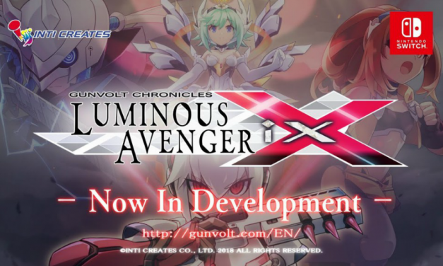 Inti Creates Announces Luminous Avenger Ix, a Gunvolt Spinoff